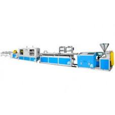 Линии производства ПВХ профилей на основе одно-шнековых экструдеров